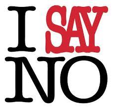 NO I say image